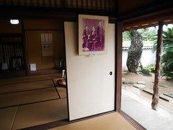 旧宅内部の写真展示