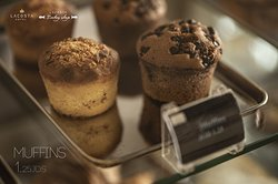 Hurry up, our glorious muffins are in the house! With a sweet offer on top
