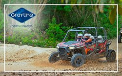 "Prepare yourself for an extreme adventure, book now our ""Terrain Safari Activity"""
