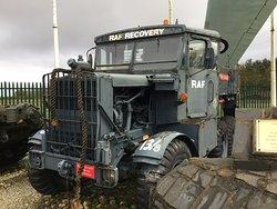 RAF tractor