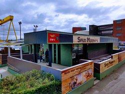 Outside view of Spud Murphy's in Belfast UK