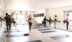One of our fun Barre Fit classes. If you want to tone, then this is the class for you