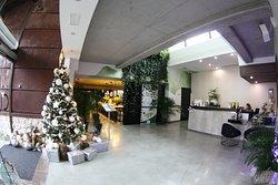 The lobby reception