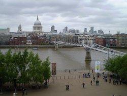 vista del Millenium Bridge