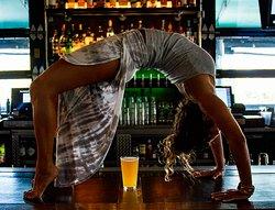 Beer + Yoga