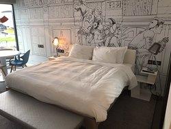 Bed in standard room