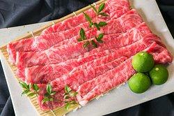 Omi wagyu Beef Sirloin A5