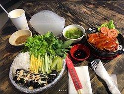Food at Asiana Food Town