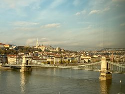 Spectacular View of the Danube