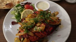 tandoori chicken (12.00)