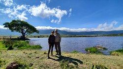 Breakfast in the Ngorongoro Crater