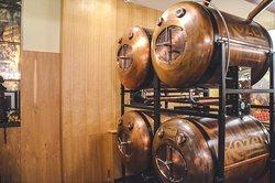 Kozel Bier vom Tank