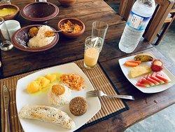 Srilankan breakfast
