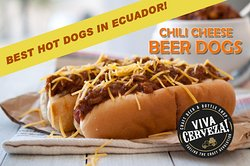 Our Hot Dogs are the best in Ecuador!