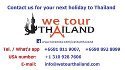 We Tour Thailand - Day Tours