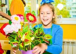 """Как ухаживать за растения и составлять красивые букеты из цветов - об этом расскажет мастерская """"Служба озеленения""""!"""