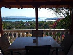 Overlooking Porto Heli