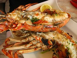 Grilled Lobster Dish