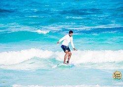 Surfin in Cancún
