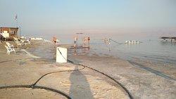 Dead sea near the spa