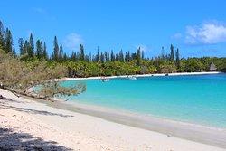 Kanumera Bay , Vue sur la longue plage ; Long beach view
