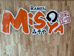 Misoya Ramen interior