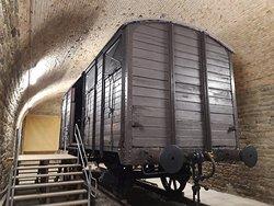 Un wagon de la déportation