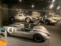 Just a sample of the Porsches