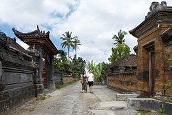 Walk around traditional village