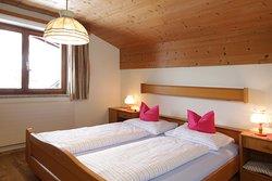 Schlafzimmer im Landhaus Stocka