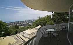 """Ресторан """"Панорама"""", уютное место с лучшим видом в Сочи."""