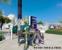 👉 Chiang Rai 1 day 📌tinerary: - Hot Spring (น้ำพุร้อนแม่ขะจาน) - White Temple (วัดร่องขุ่น เชียงราย) - Black Museum (บ้านดำ) - Blue Temple (วัดร่องเสือเต้น หรือวัดฟ้า) - Visit Long neck Village (กะเหรี่ยงคอยาว)  #Thankyouforjoinwithus #Chiangrai #ByMinivan #WhiteTemple #BlueTemple #BaanDamMuseum #Longjourney 🚌🚌🚌🚌💨