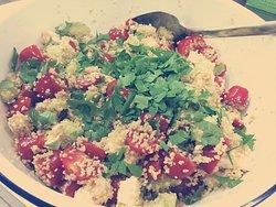 Sonntagsbrunch- Couscous Salat