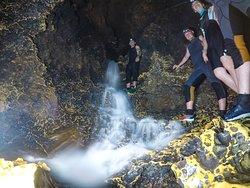 Подземный водопад