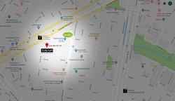 Estamos ubicados en la Carrera 86A #27-43 en Bogotá, a una cuadra del Carulla del Polo y del puente peatonal de la Castellana