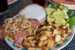 Bacon Ranch Cheeseburger