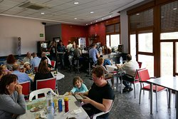 Restaurante Cofrentes, interiör