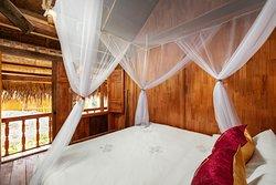 Deluxe room on stilt house