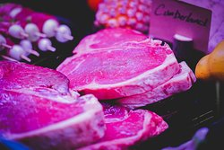 In-house butchers at Alp's Kitchen