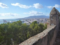 View of Malaha from the castle walls