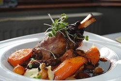Fall off the bone Lamb shank special