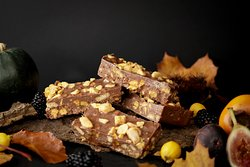 The Honeycomb chocolate tiffin.