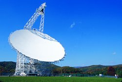 The GBT (Green Bank Telescope) is the largest moveable radio telescope in the world!