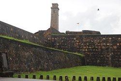 Klokkentoren van Galle fort
