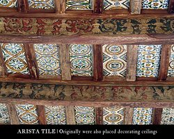 Ceramicas Sevilla 1952   Arista Tile Ceramics. Originally were also placed decorating ceilings