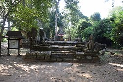 Entrance to the Causeway leading to the temple