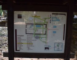 Signboard with Map