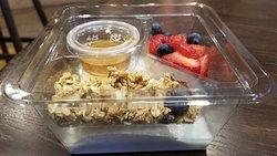 Yogurt with Fruit and honey