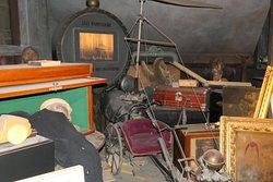 Brussels, Maison Autrique, attic