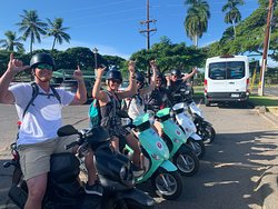 Island Motion moped and scooter rental